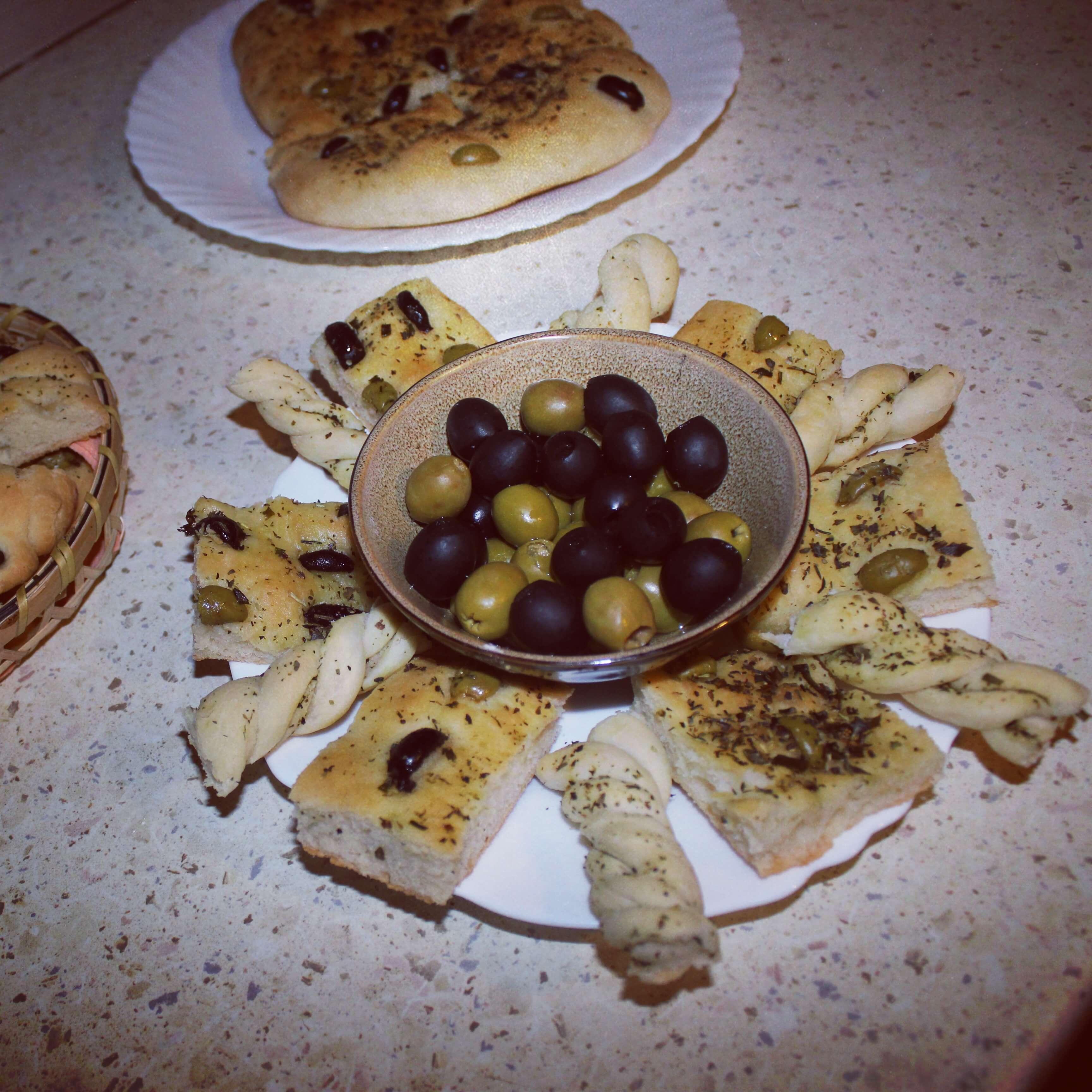 Fokačia duonelė su alyvuogėmis