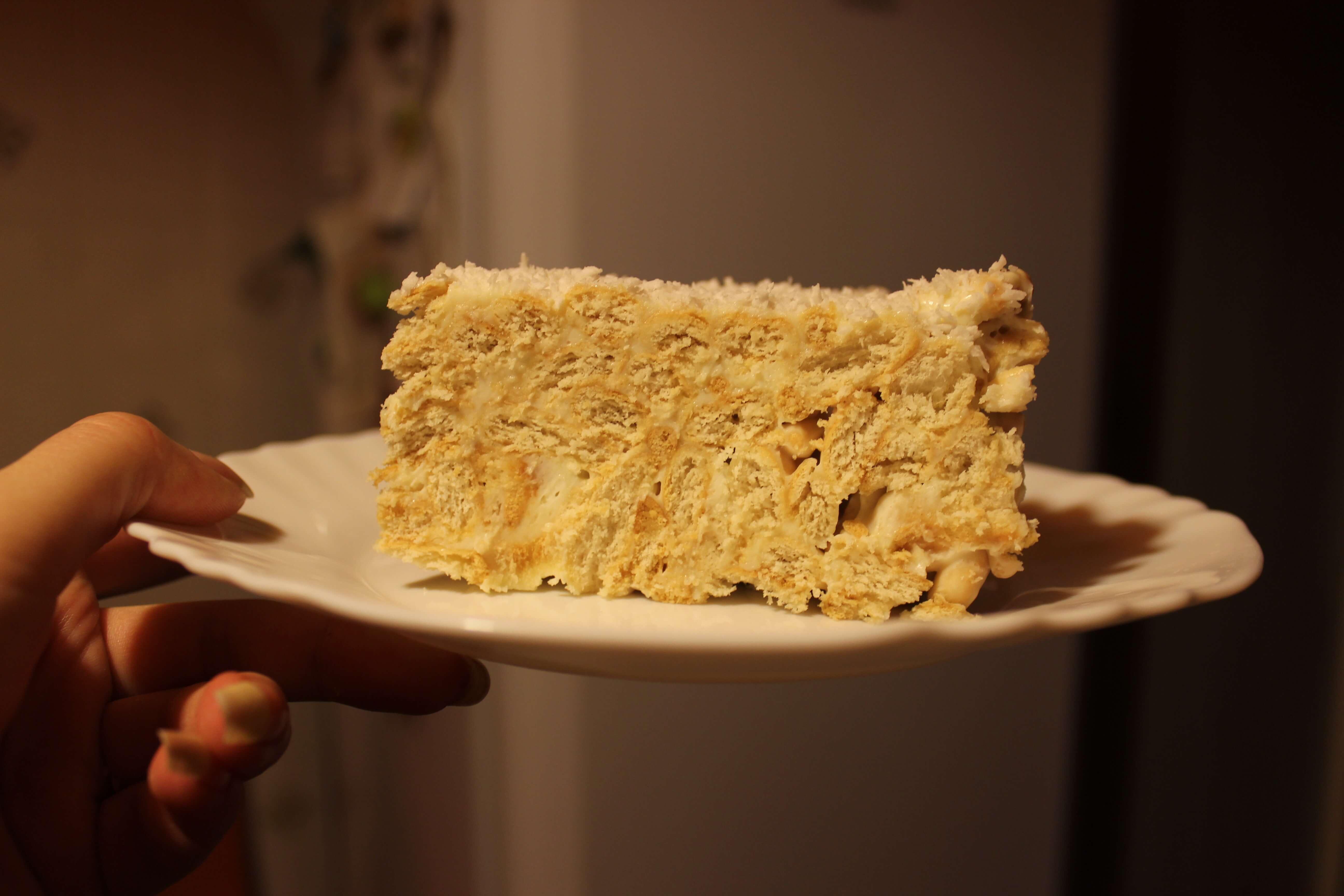Krekerių pyragas