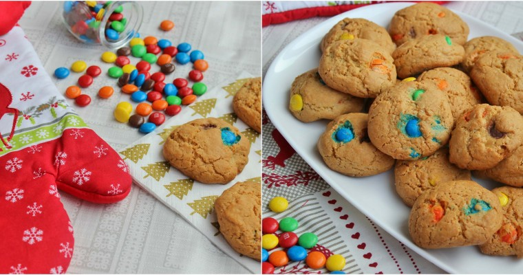 Sausainiai su M&M's